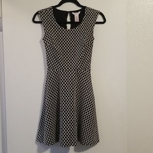 Candies checkered swing dress size XS